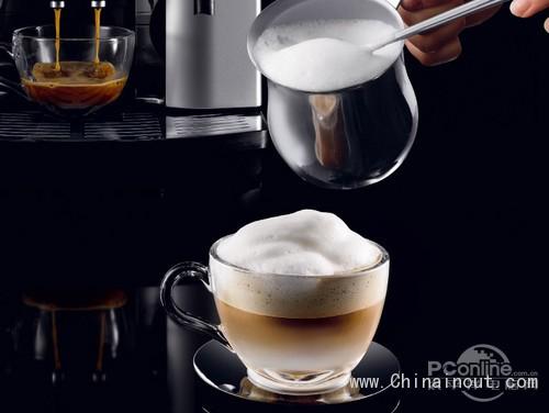 德全自动咖啡机一键制成香浓咖啡