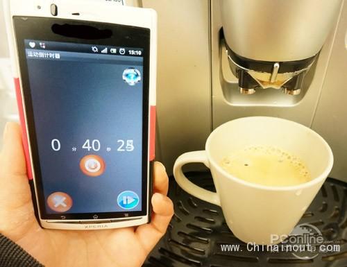 现磨咖啡花费时间
