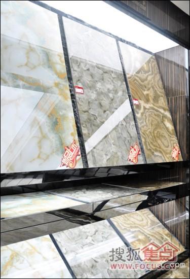 蒙娜丽莎晶华石瓷砖系列