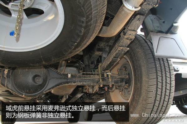 跨界越野 场地试驾域虎2.4T四驱柴油手动