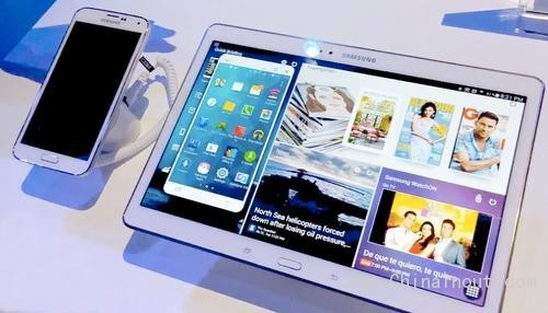 Galaxy phone and tablet