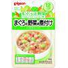 日本贝亲鲑鱼蔬菜粥 soup