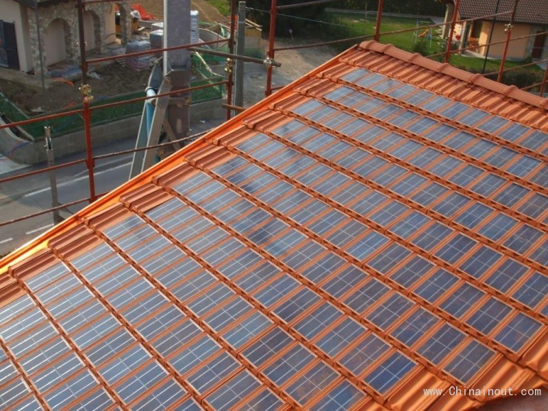 Shingle Solar Tile