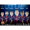 巴塞罗那俱乐部足球明星玩偶 FC Barcelona