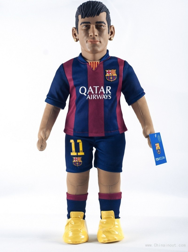 neymar_barcelona_figure_football_doll