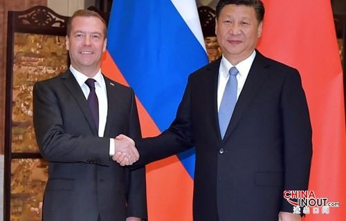 习近平主席:把中俄全面战略协作伙伴关系推向更高水平