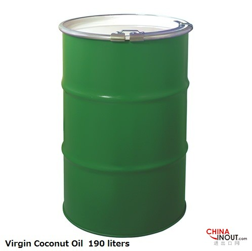 190 liters vco steel drum