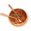 橄榄木制色拉碗 Olive wood salad bowl