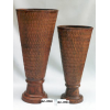 印度铁花瓶 Vase