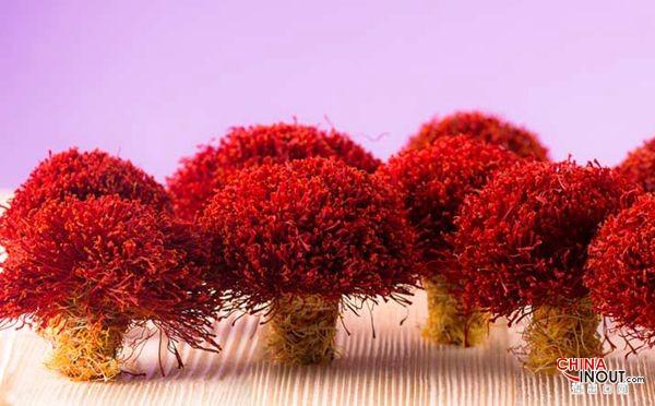 三级扎把子藏红花