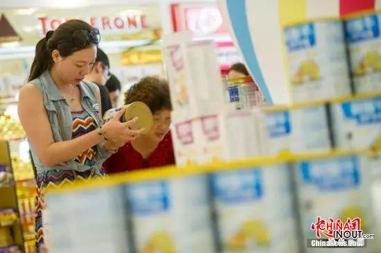 嚴禁進口大包裝嬰幼兒配方乳粉到境內分裝