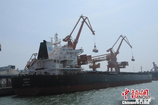盤錦港迎首艘進境糧食船舶 載5萬余噸巴西進口大豆